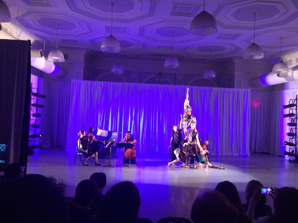 Ahn Trio had so much fun playing with the Nai-Ni Chen Dance Company for APAP mini showcase performance last Saturday! Look at that beautiful human pyramid being created to David Bowie's Space Oddity, the dancers are so inspiring!