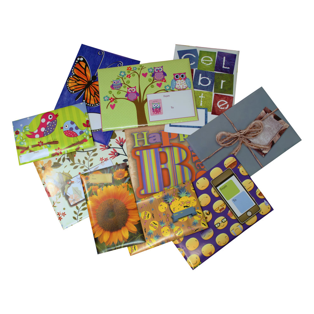 Everyday deco bubble mailers