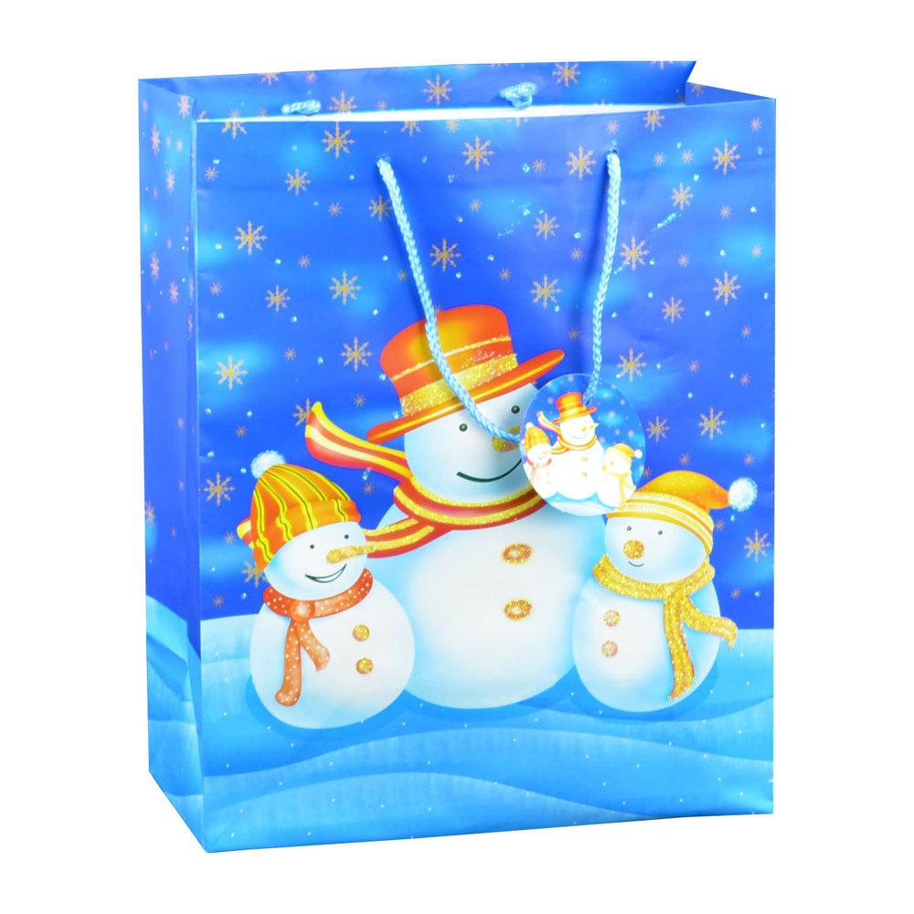 Snowman Family Gift Bag
