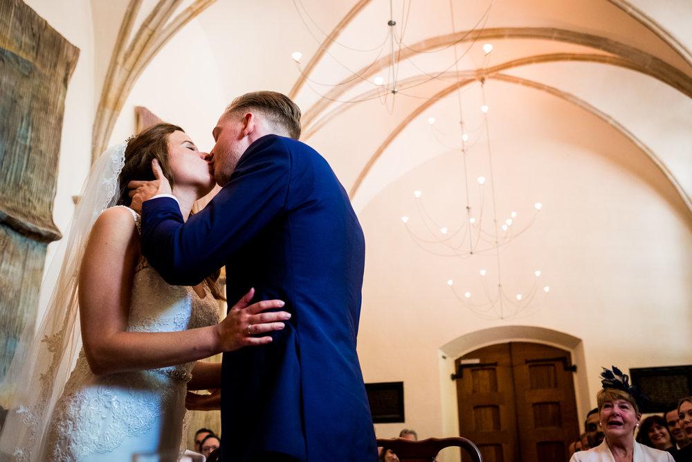 Hét moment: de kus na het jawoord!