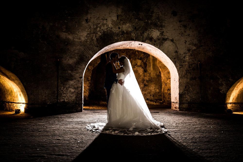 Bruidsfotografie in Fort Rammekens
