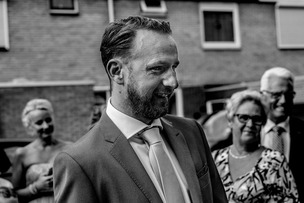 Bruidsfotografie ontmoeting in Bergen op Zoom