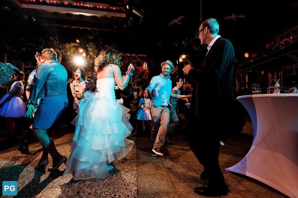 dansende bruid