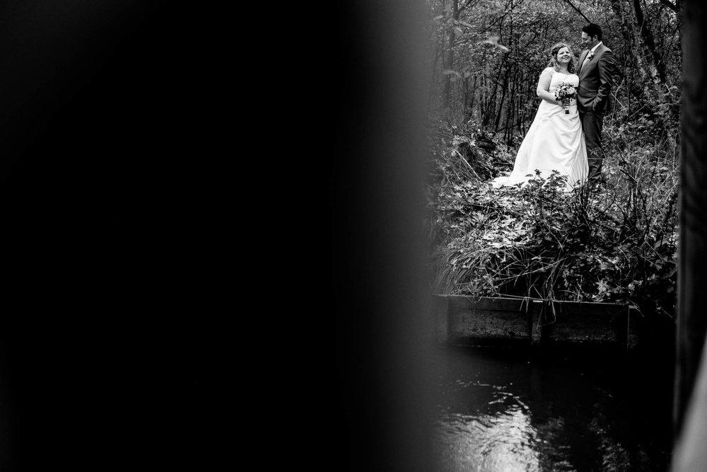 Bruidspaar natuurgebied de Kempen