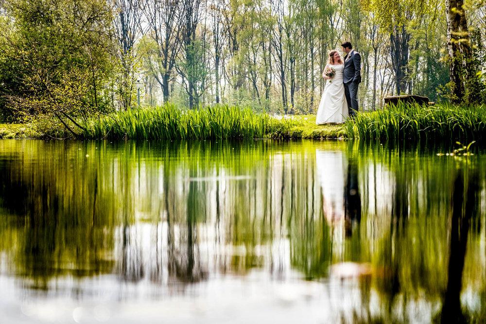 trouwen natuurgebied de Kempen
