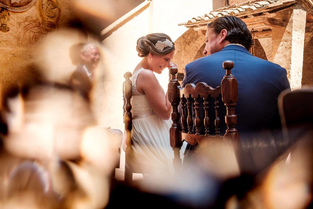 Bruidsfotograaf Toscane Italië bruid emotioneel