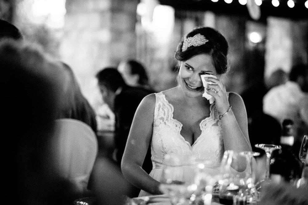 Bruidsfotograaf Toscane Italië emotie bruid