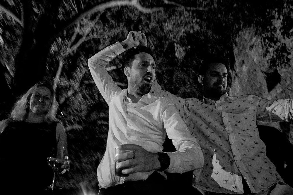 Bruidsfotograaf Toscane Italië dansen