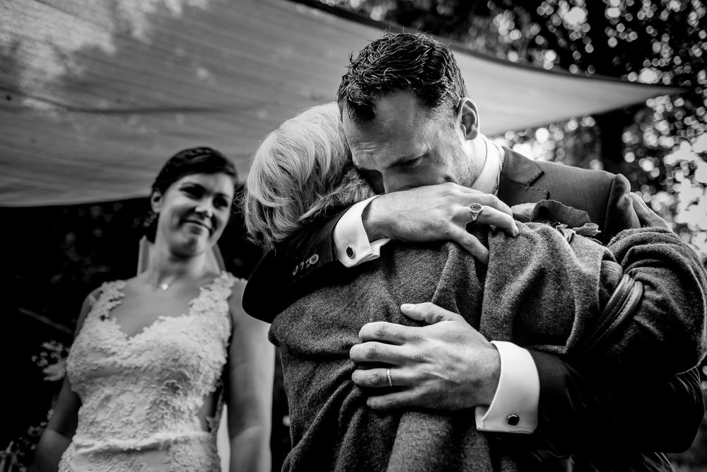 Wat is journalistieke fotografie knuffel met oma