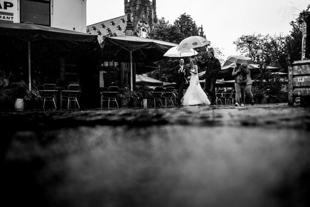 Journalistieke bruidsfoto's Love Rules