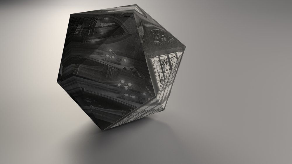 Without relief mapping/texturing