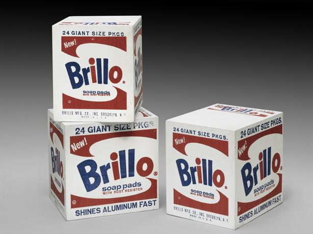 Brillo Boxes - Andy Warhol