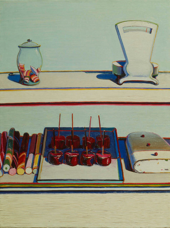 Candy Counter by Wayne Thiebaud