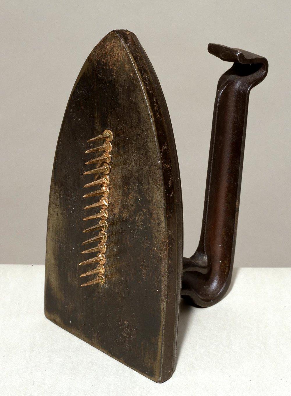 Man Ray  Cadeau 1921, editioned replica 1972  Tate © Man Ray Trust/ADAGP, Paris and DACS, London 2018
