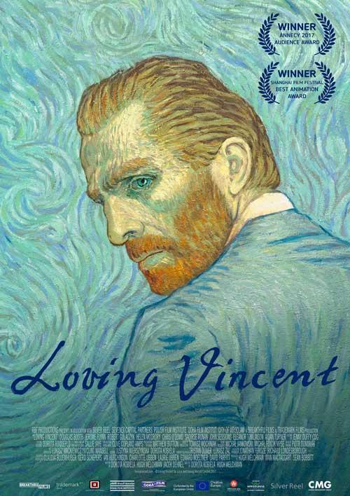 Loving vincient, Movie poster