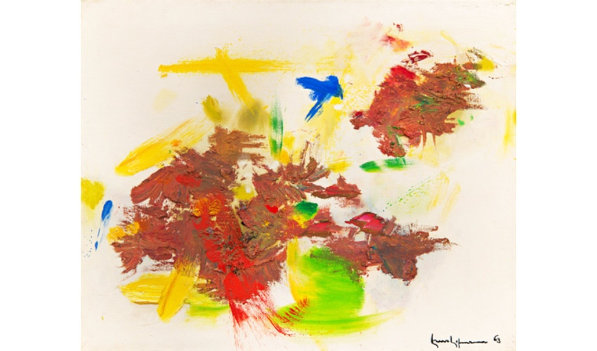 Hans hofman, Rossignal, 1963, Oil on canvas
