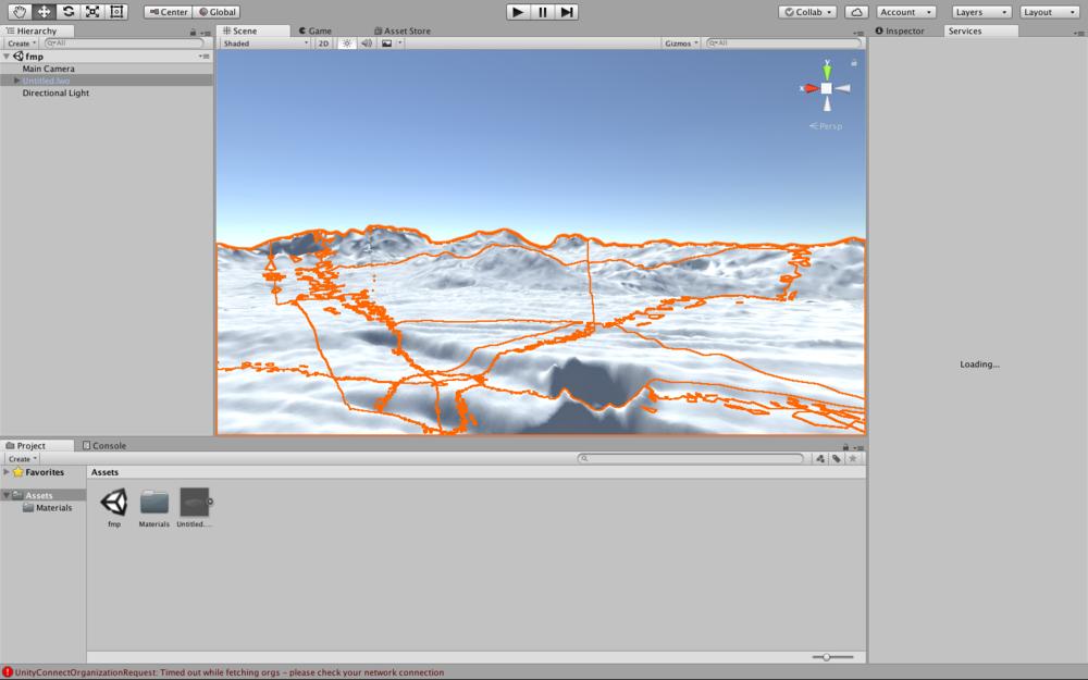 Terragen file opened in Unity