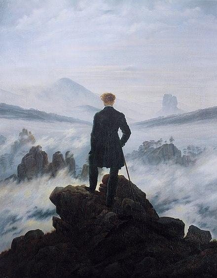 Casper David Friedrich -Wanderer Above the Sea of Fog