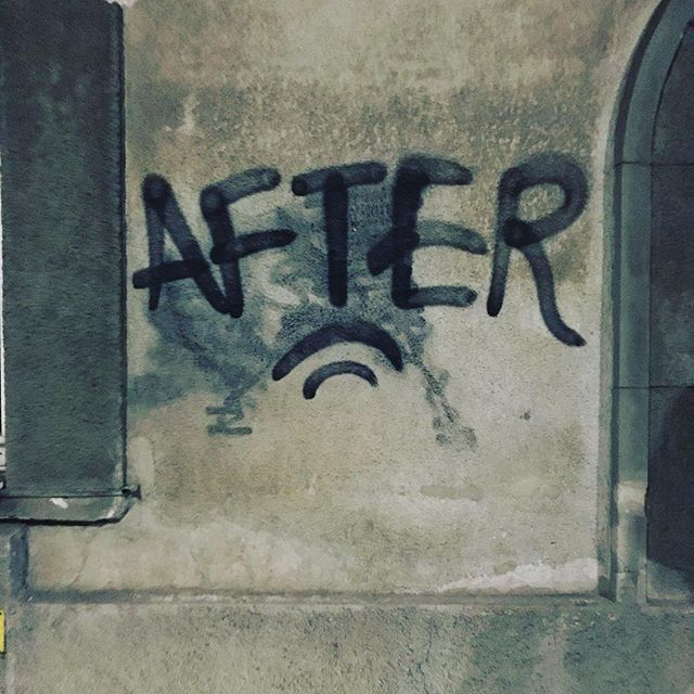 The day #after, feeling komplett im #after. Danke liebes Sub, danke @nutzn und @usedsteel_diy_stuff ä. Danke an alle Bands @antimanifest.punk, Dregs, @barrierreefthegreat, the great red gaze und @mahoney.punk_official