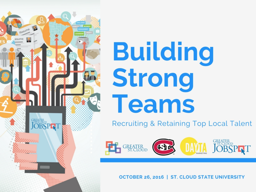 Resource - Download our PowerPoint guide,  Building Strong Teams – Recruiting & Retaining Top Local Talent.