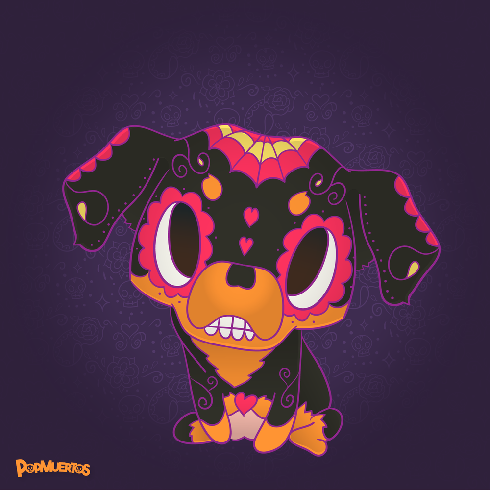 Samus the Rottweiler - Day of the Dead