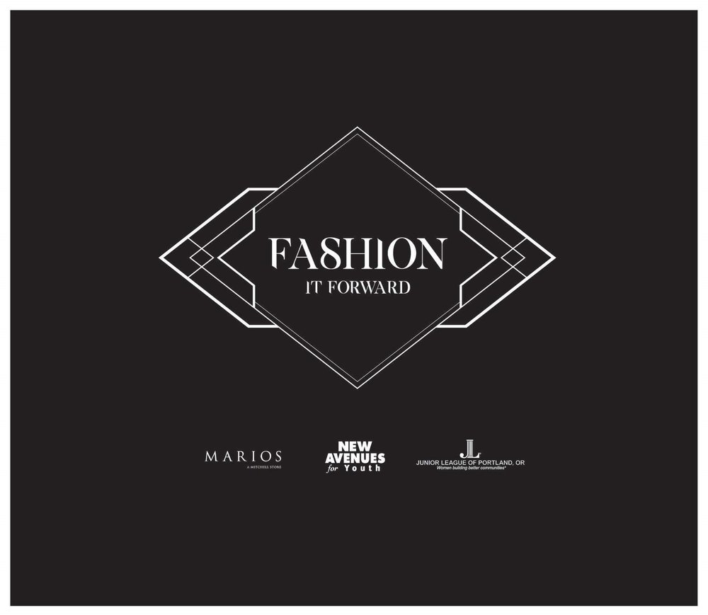 Fashion it Forward  - The Junior League of Portland is hosting Fashion it Forward, a pop-up (fashion) shop in September. 100% of the proceeds go towards the JLP's 1910 Campaign with the goal of raising $110,000 in celebration for our 110th birthday in 2020. This money will be donated to our community partner, New Avenues for Youth a nonprofit organization dedicated to the prevention and intervention of youth homelessness. Please consider donating any gently used women's apparel, footwear or accessories. Donations are tax deductible. A tax receipt will be provided.  For more information please contact: info@jlpdx.org