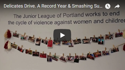 Smashing Success - The Junior League of Portland has successfully completed our 6th annual Delicates Drive to benefit survivors of Human Trafficking. We are proud to report a record year collecting 11,239 undergarments