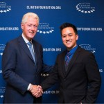 Viet at the Clinton Foundation, New York, 2015