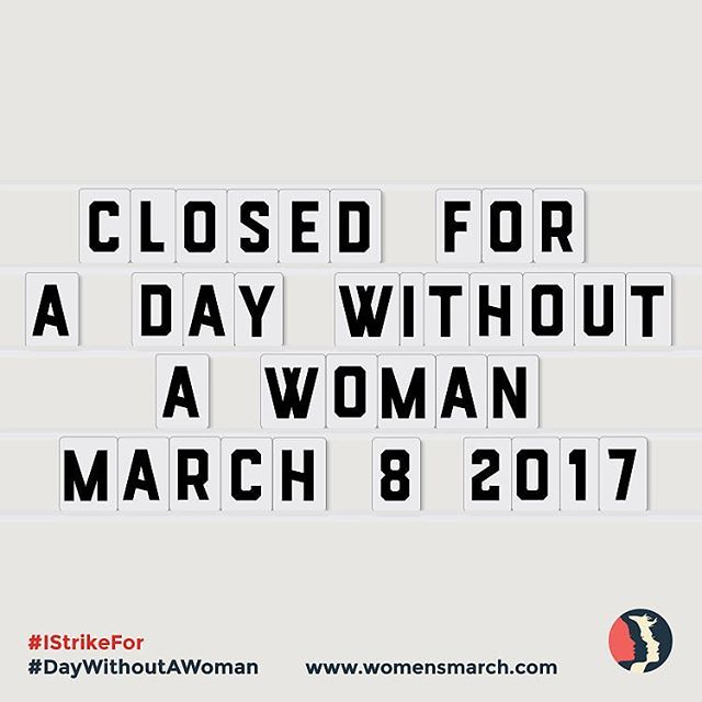 Apatite Collective is an organization run by kick-ass ladies! Thanks to all those who have supported us and collaborated with us and allowed us to lift each other up and grow as artists, women and business owners ❤️ #istrikefor #daywithoutawoman