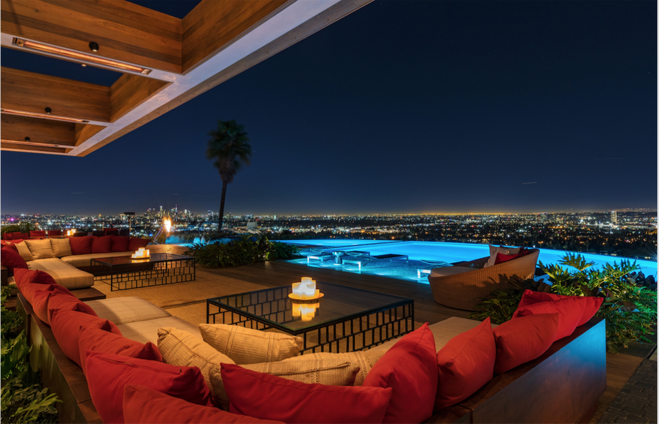 Forbes - Lenny Kravitz Designs Sexy Interiors For $38 Million Hollywood Hills Estate