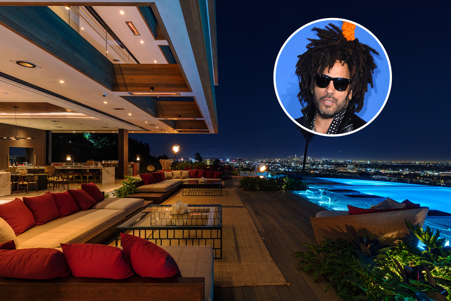 Mansion Global - $38M Los Angeles Spec House, Designed by Lenny Kravitz, Pays Homage to Mid-Century Modernism