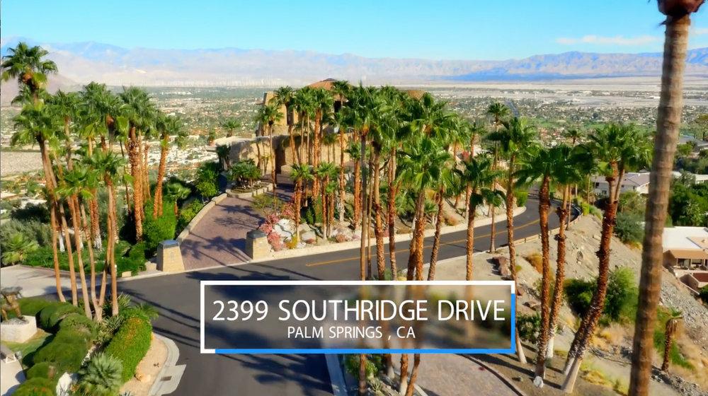 Entrance to 2399 Southridge Drive taken by Drone
