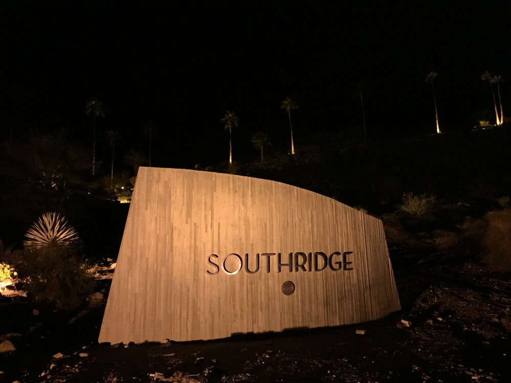 Entrance sign to Southridge - Photo by Will Fuller