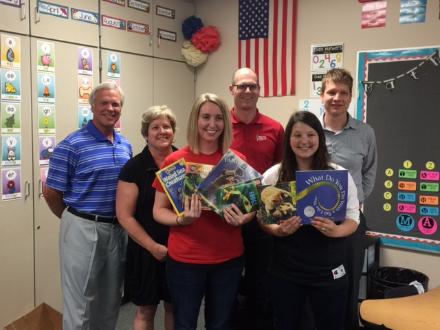 PAIGE NORDLAND AND BLAIR DOSCH SHOWED THE EEF BOARD THE NEW BOOKS THAT WILL HELP TEACH THE INFORMATION SET BY THE NEXT GENERATION SCIENCE STANDARDS. THIS IS A MORE INDIVIDUALIZED APPROACH TO LEARNING AND THEY GAVE WONDERFUL EXAMPLES OF HOW IT HAS IMPROVED THE LEARNING IN THE CLASSROOM.
