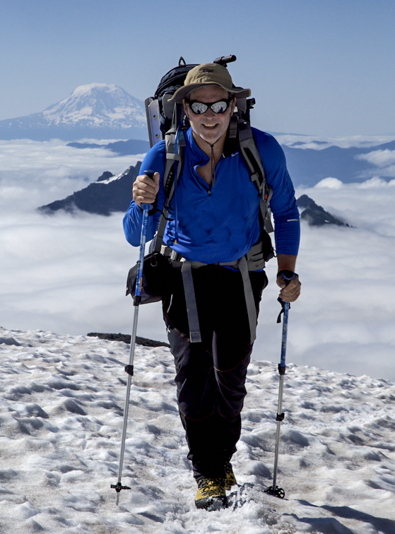 Climbing Mt. Rainier PC: Rick Baraff