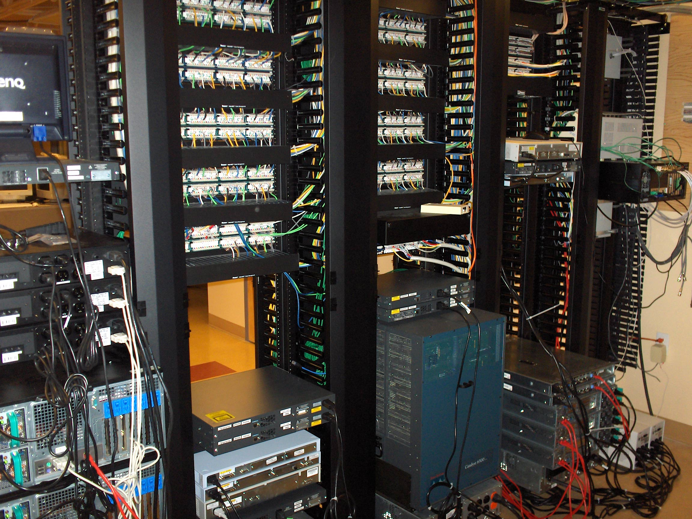 Structured Cabling Triad Cat6 Patch Panel Besides 24 Port Further 48 Project Closet Clean Up