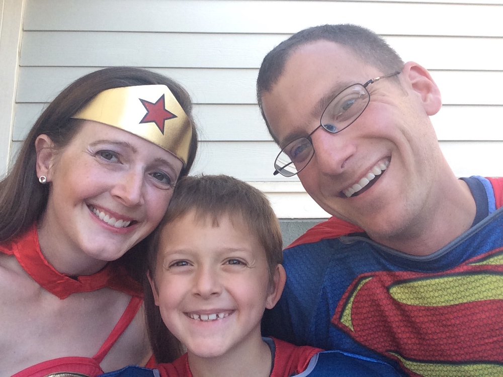 "Halloween: The only appropriate time to ""be"" Wonder Woman! Meet the super-est family on the block...and in the world!"