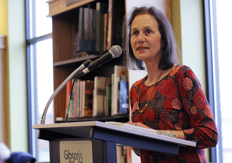 The author speaks about Go Ask Fannie at Gibson's Bookstore in Concord, NH - The Bookshelf from NHPRBy PETER BIELLO • MAY 25, 2018