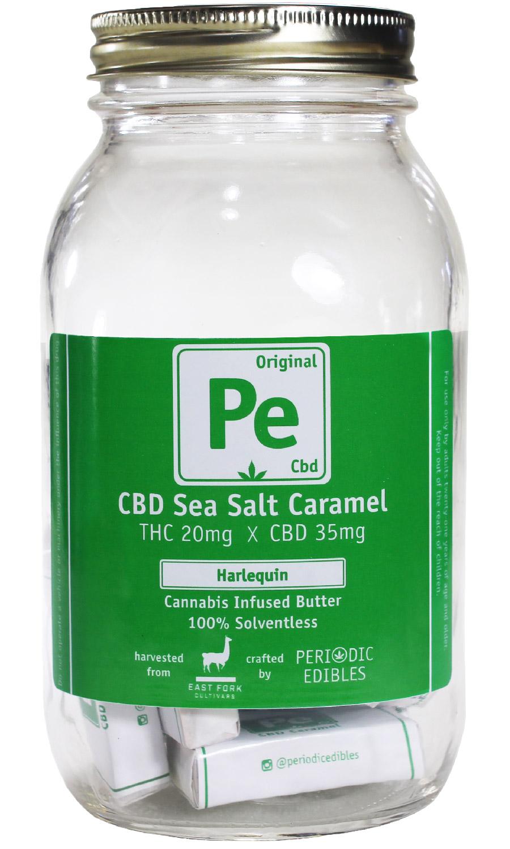 THC x CBD Cannabutter Caramel Edibles