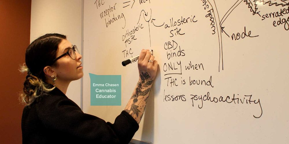 Emma Chasen and Periodic Edibles Founder Wayne on the Science of Cannabis 101