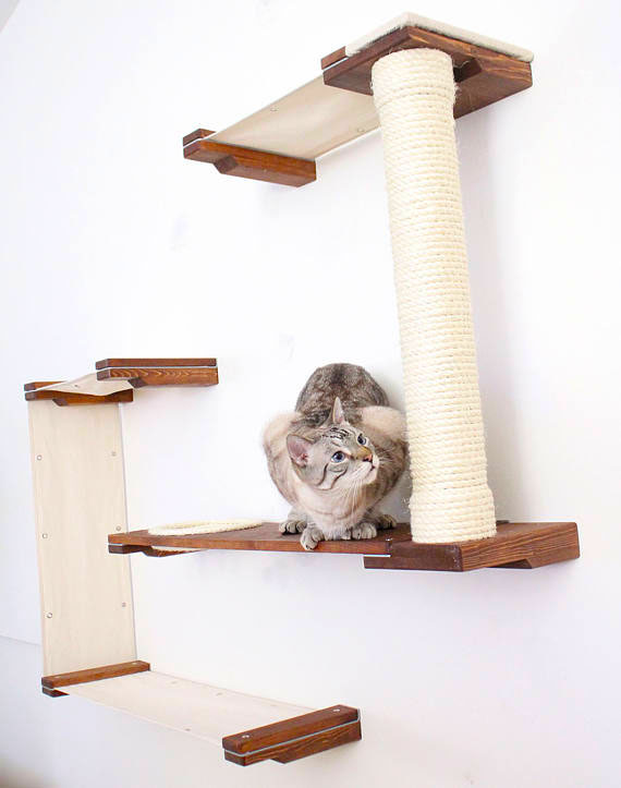 A1Savannahs Cat Hammock Playground by catastrophicreations