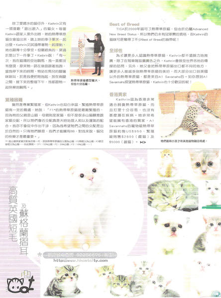 August 2009 - Chinese Cat's Magazine page 2