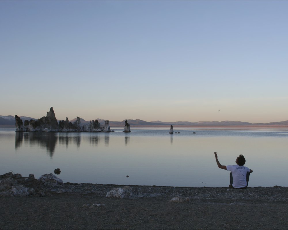 "partly my idea (mono lake), 2008  chromogenic print, 40.6cm x 50.8cm / 20"" x 16"""