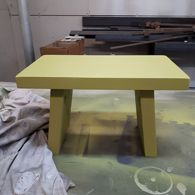 Custom Maple Stool