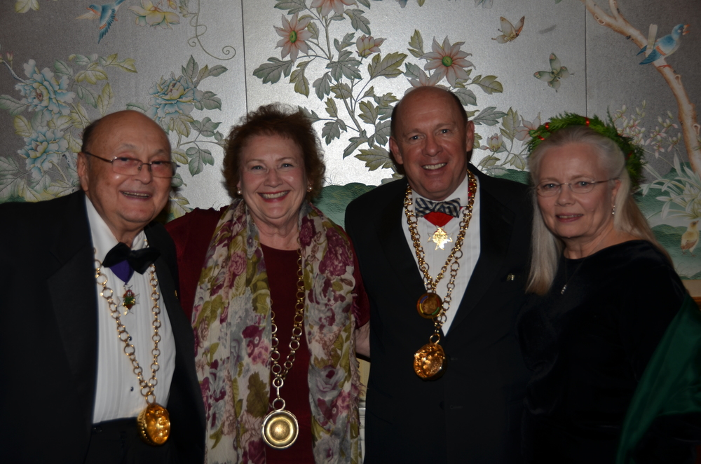 2013 Holiday Event Peninsul Neill, Janet, JimB, Cathie .jpg