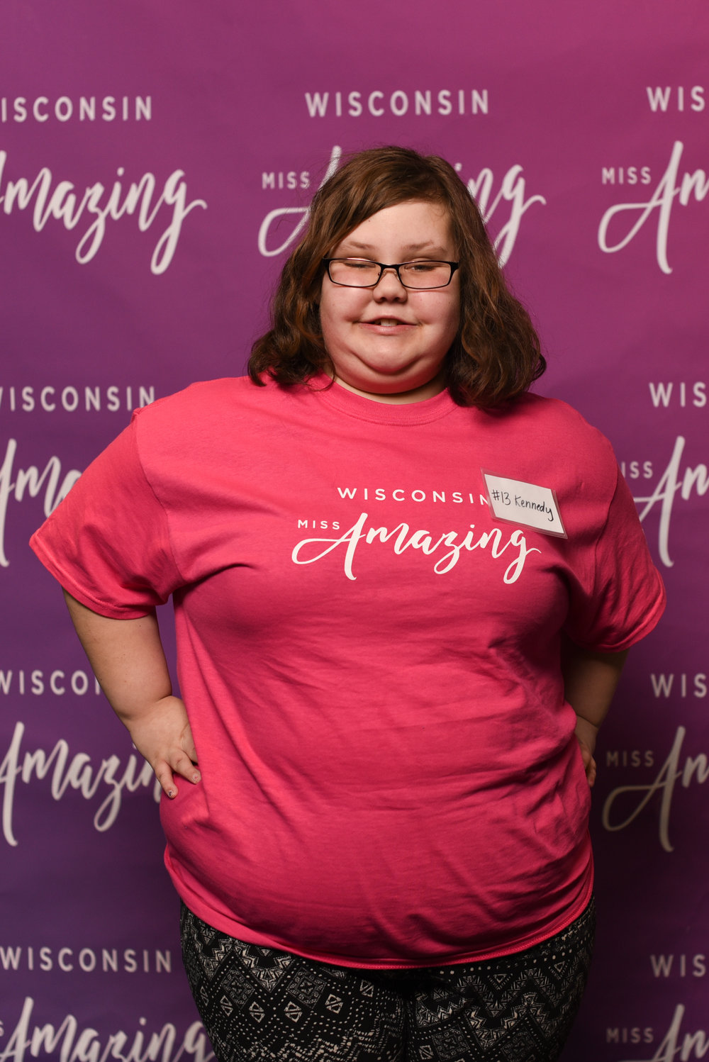 Wisconsin Miss Amazing  Jr. Teen  |  Kennedy   Click to read more about Kennedy!