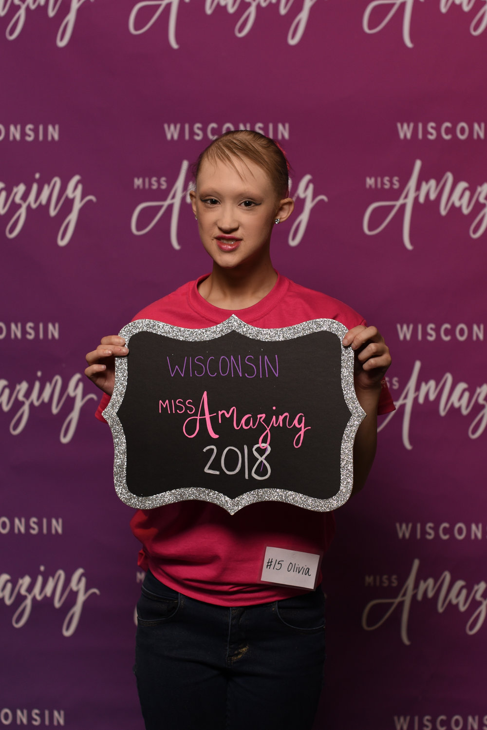 Wisconsin Miss Amazing Teen  |  Olivia   Click to read more about Olivia!
