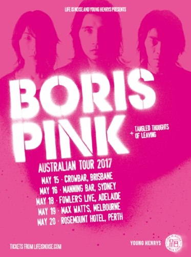 Boris Pink Tour