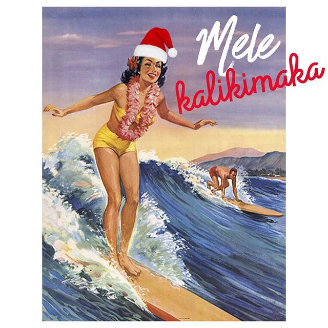 Cue the music!! 🎶😌🌴❤ Mele Kalikimaka is the thing to sayy, on a bright Hawaiian Christmas dayy. That's the island greeting that we send to youu, from the land where palm trees swayy. 🎶🌴🤙🏽💌