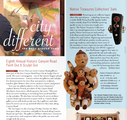 Santa Fean Magazine
